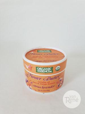 Biologische Flower Butter Citrus Lavender