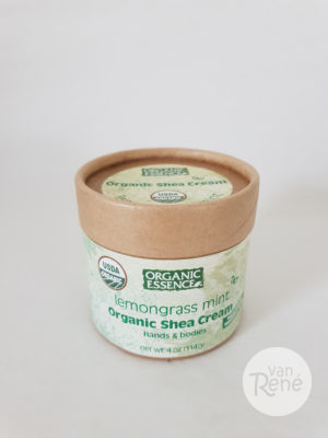 Biologische Shea Cream Lemongrass Mint