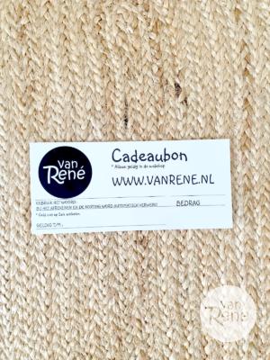 cadeaubon Van Rene
