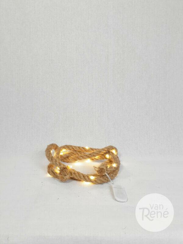 Decoratie touw met verlichting