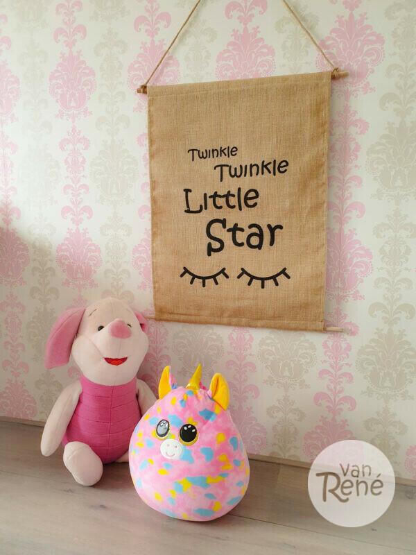 Jute Wandhanger Twinkle Twinkle Little Star